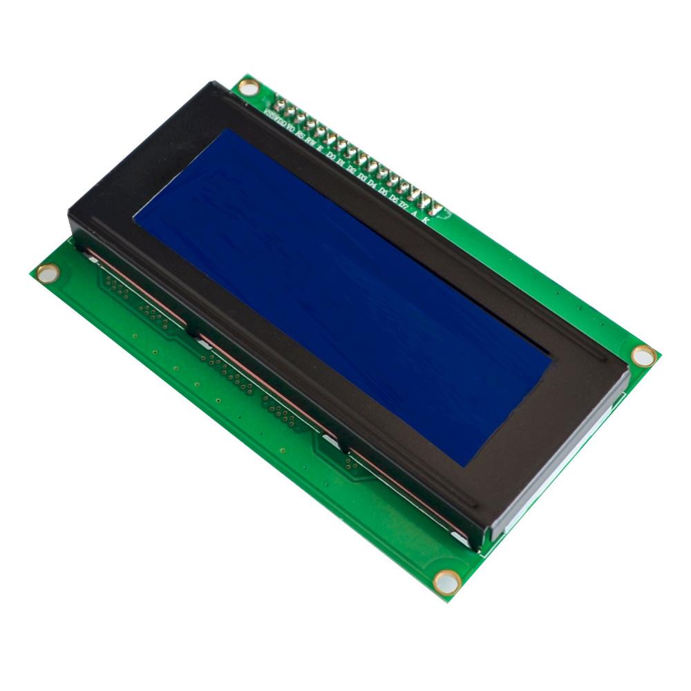 จอแสดงผลแอลซีดีขนาด 20 ตัวอักษร 4 แถว จอสีฟ้า พร้อม I2C Interface