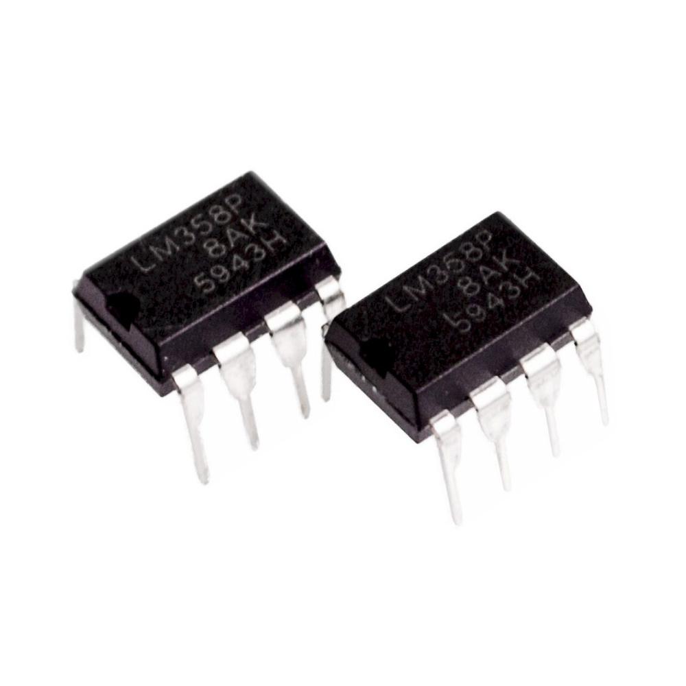 ไอซีออปแอมป์ LM358 Op-Amp Dual Operational Amplifier