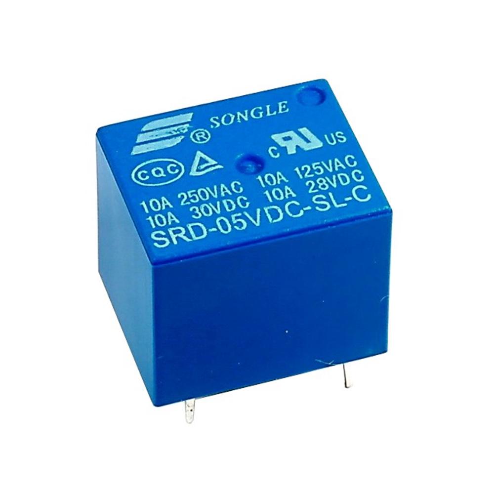 รีเลย์ 5V Relay 5V DC SRD-05VDC-SL-C