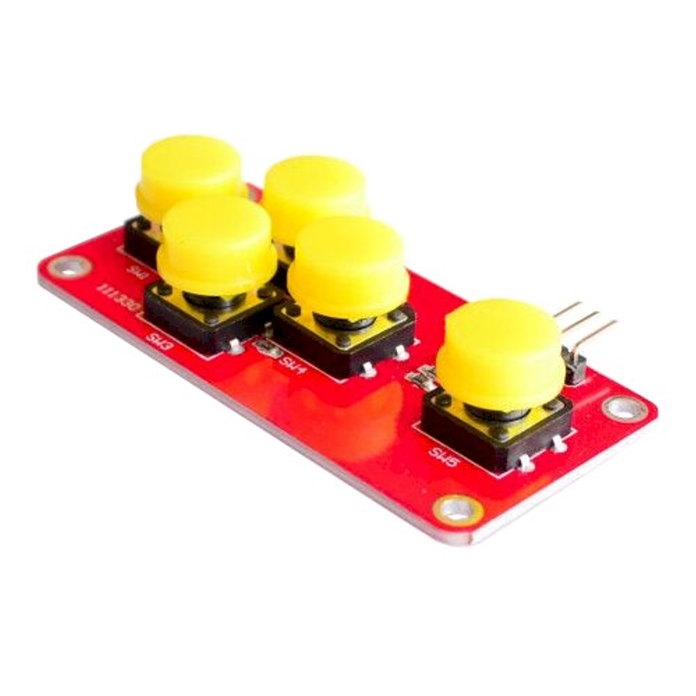 AD Keyboard Module โมดูลสวิตช์ 5 ปุ่ม แบบ Analog