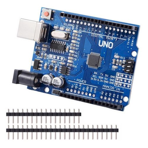 Arduino Uno R3 แบบ SMD CH340G เพิ่มพอร์ทขยาย