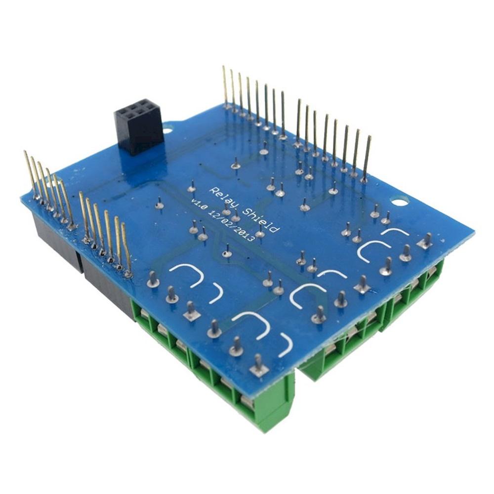 รีเลย์ 4 ช่อง 5V 4 Channel Relay Shield for Arduino