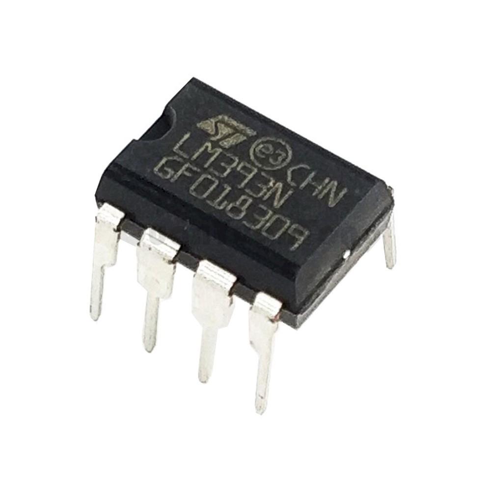 ไอซี LM393N Low Power Dual Voltage Comparators
