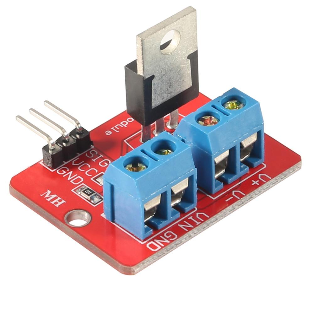 รีเลย์แบบอิเล็กทรอนิกส์ IRF520N Power Electronic MOSFET Switch Relay Module