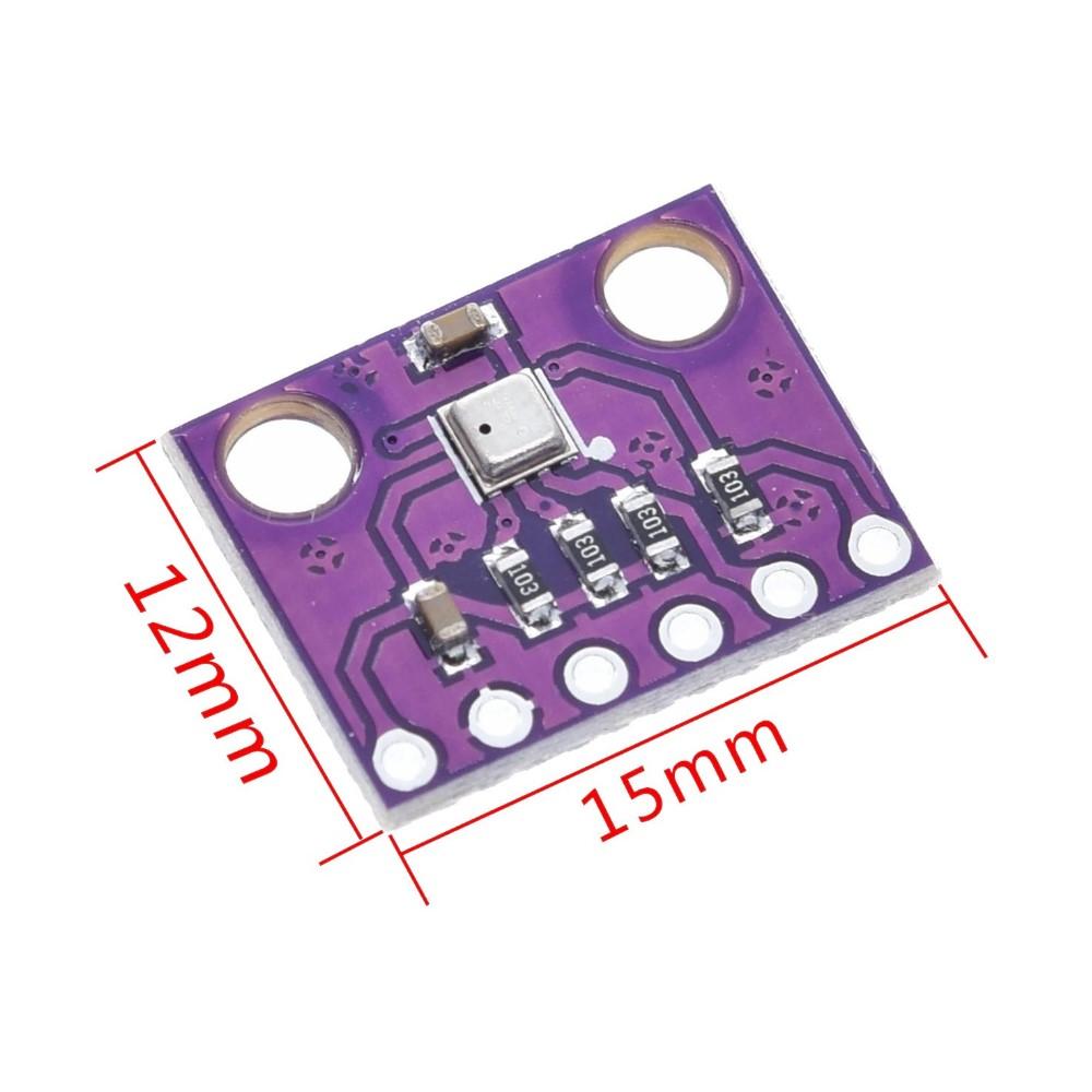 เซ็นเซอร์วัดอุณหภูมิ ความชื้น ความกดากาศ BME280 3.3V Temperature Humidity Barometric Pressure Sensor