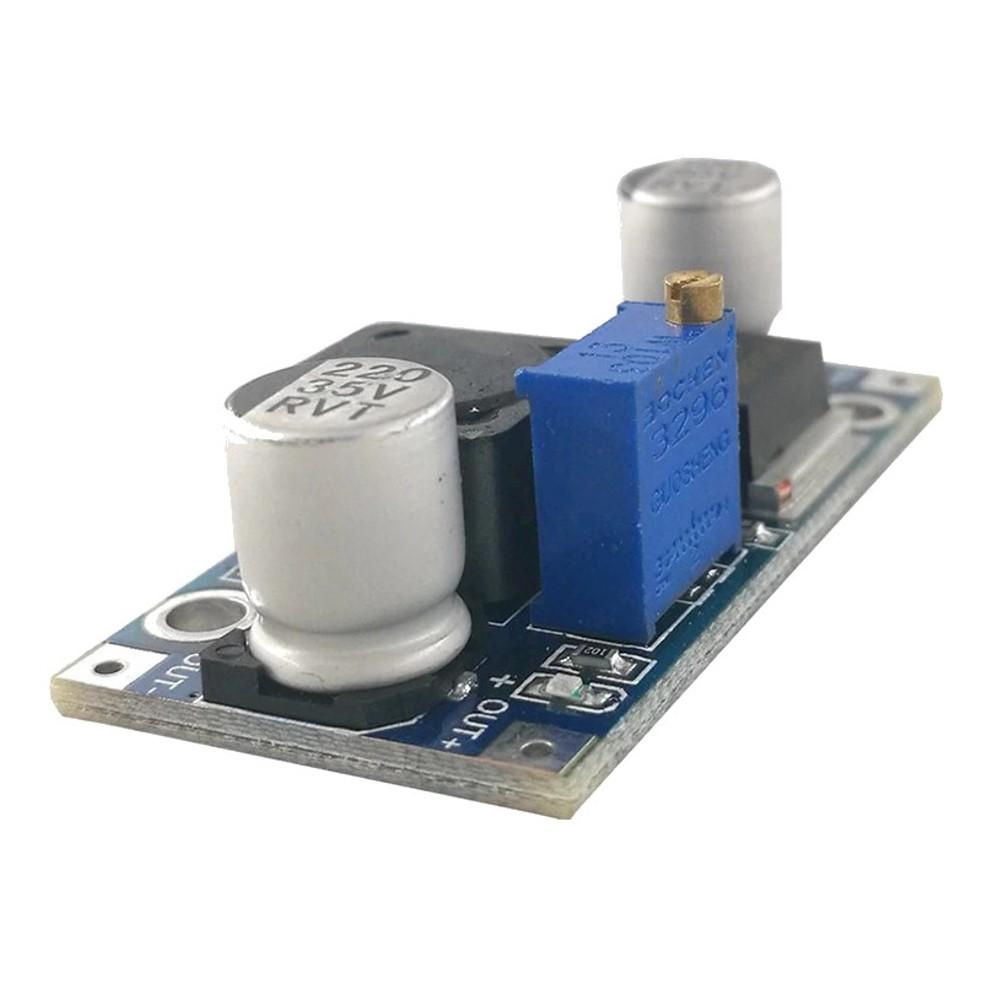 โมดูลแปลงไฟ 4-35V เป็น 1.25-35V 3A LM2596 DC-DC Adjustable Step down Module